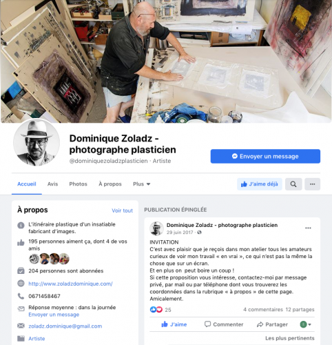 Facebook dominique zoladz